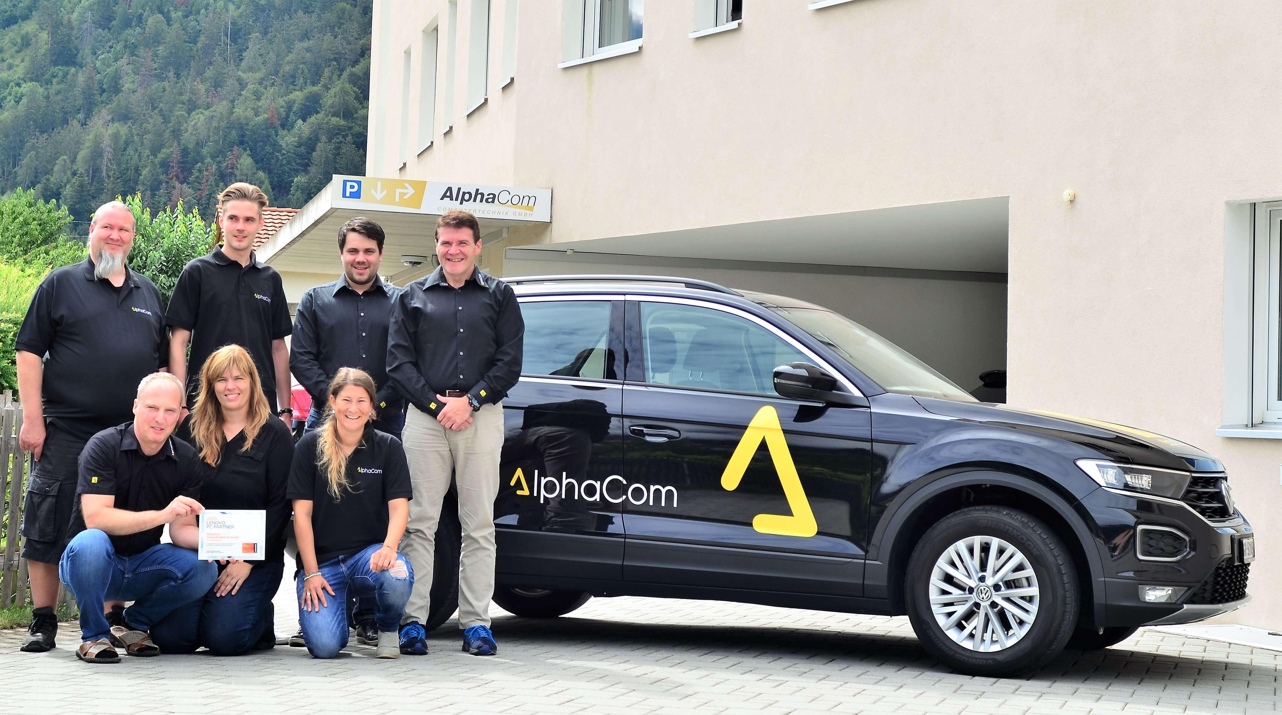 AlphaCom ist ab sofort zertifizierter Lenovo Gold PC Partner