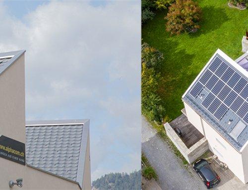 Neue Solaranlage thront nun auf dem Dach der AlphaCom