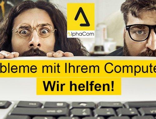 Probleme mit Ihrem Computer? Wir helfen mit professionellem IT Support!