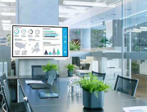 """Preisgekrönte Innovation """"Samsung Flip WM65R"""" bei der Mobiliar in Landquart"""